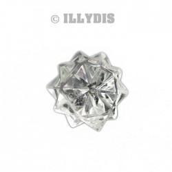 Icosaèdre Etoilé Cristal de Roche - 1,5cm