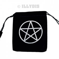 Pochette Pentacle Suédine MM - Lot de 5