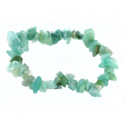 Bracelet Baroque : Amazonite du Brésil - lot de 10
