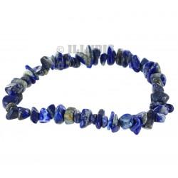 Bracelet Baroque : Lapis Lazuli Qual. A - lot de 10