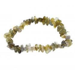 Bracelet Baroque : Labradorite Qual. A - lot de 10
