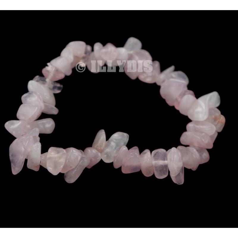 Bracelet Baroque Quartz Rose Qual A Lot De 10