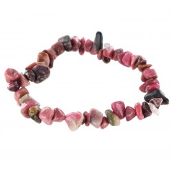 Bracelet Baroque : Rhodonite Qual. A - lot de 10