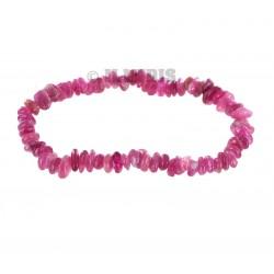 Bracelet Baroque : Tourmaline Rose Qual. Ex - la pièce