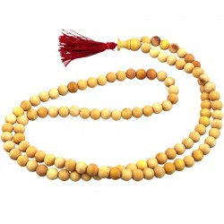 Mâlâ Santal Blanc - perles 7 mm