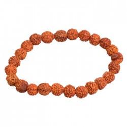 Bracelet Graines de Rudraksha - 8 mm