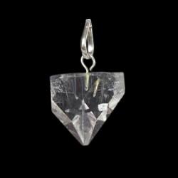 Pendentif Apophyllite Blanche cristal gemme 2cm