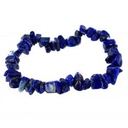 Bracelet Baroque : Lapis Lazuli Qual. Ex - lot de 5